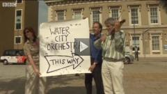 Water City Orchestra recruit players on London streets